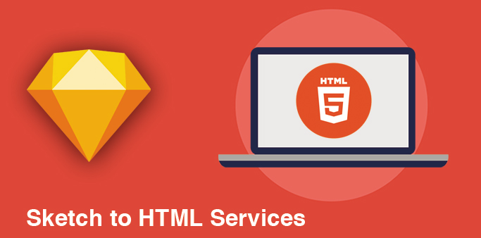Sketch to html services